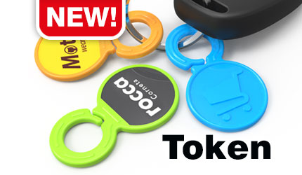 tokens with hanger