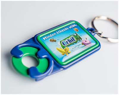 Keyrings with a token