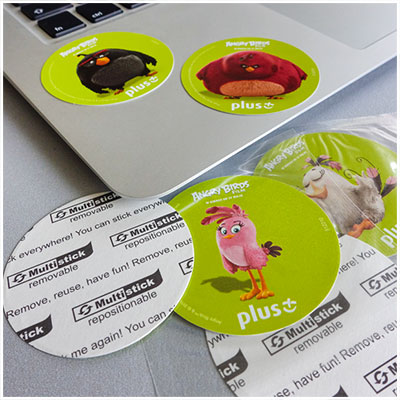 Multistick stickers