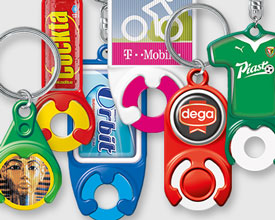Keyrings with token